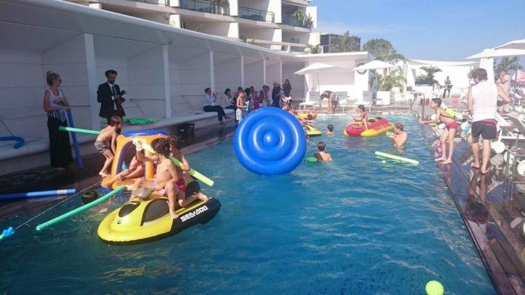 Anniversaire piscine Yacht Club 2015