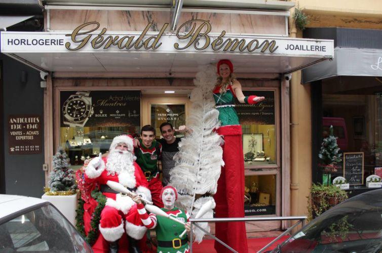 Parades de Noël au port de Nice 2014 /2015