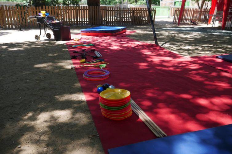 Initiation cirque camping Var été 2017