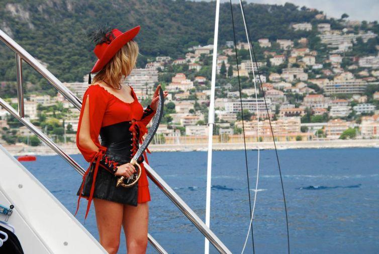 Anniversaire pirates Yacht 2014