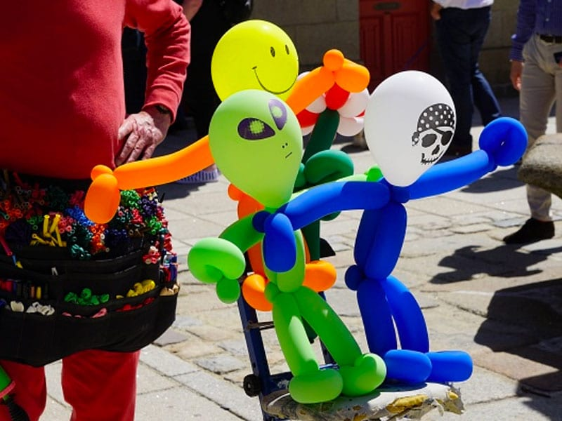 Sculpture sur ballons pour enfants