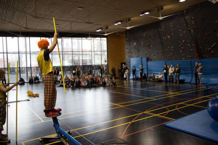 Initiation cirque à Nice 2016