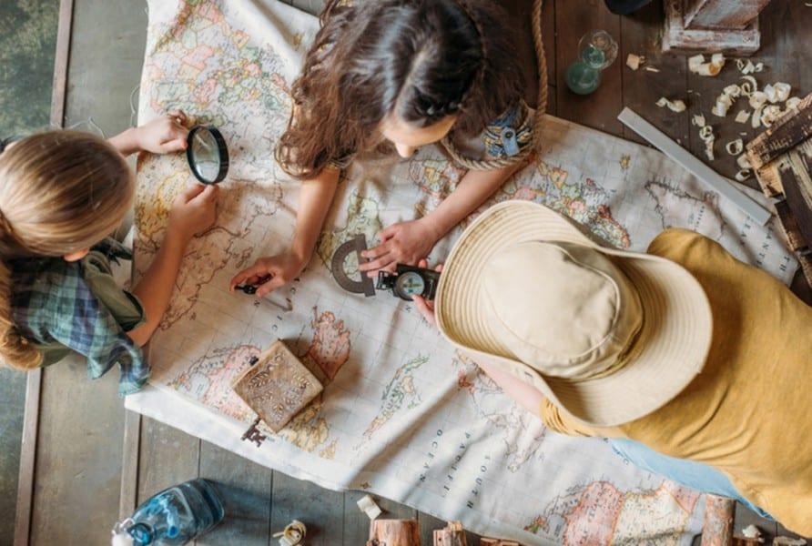 Chasse au trésor anniversaire enfant | Eklabul Kids