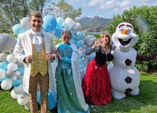 anniversaire reine des neiges - aout 2021 - Eklabul evenements_12